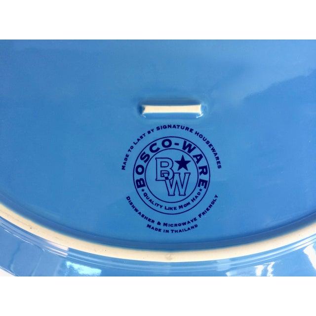 Blue Oval Serving Platter - Image 5 of 5