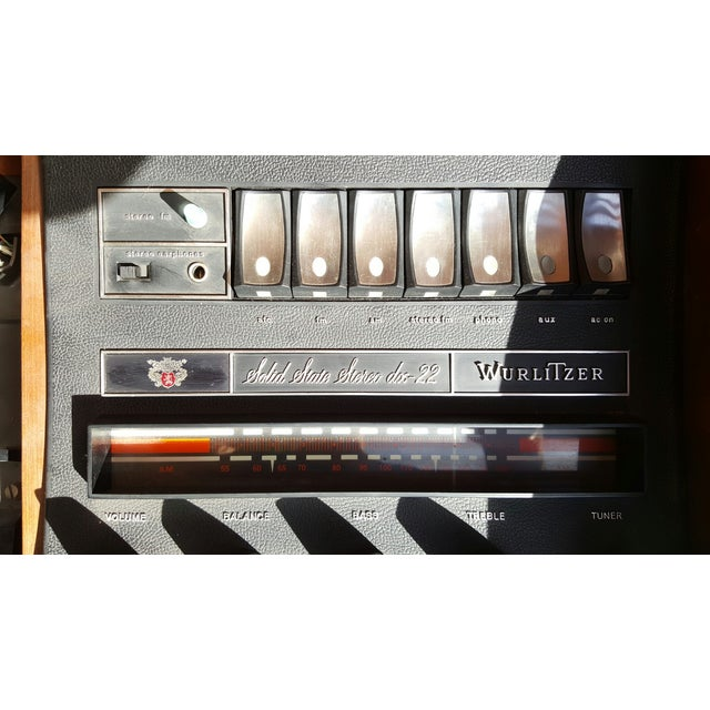 Wurlitzer DX 22 1950's Stereo Console - Image 7 of 8