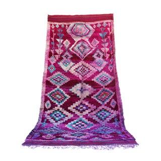 "Vintage Talsint Moroccan Berber Rug - 5'1"" x 14'9"""