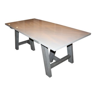Paxton Modern Rustic Dining Table
