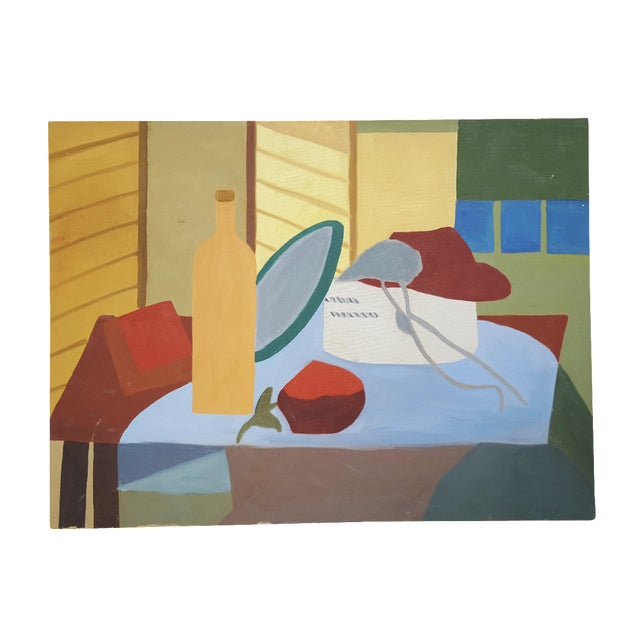 Image of McDermott Abstract Tablescape Painting