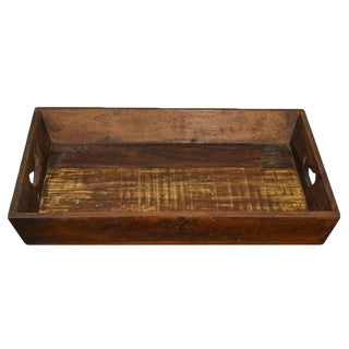 Reclaimed Wood Farmhouse Tray