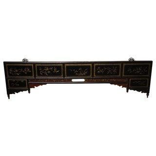 Antique Chinese Headboard