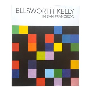 """Ellsworth Kelly in San Francisco"" 1st Edtn Exhibition Modern Art Book"