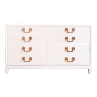 Landstrom Hollywood Regency High Gloss White Dresser