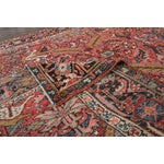 "Image of Persian Heriz Rug- 7'2"" x 8'9"""