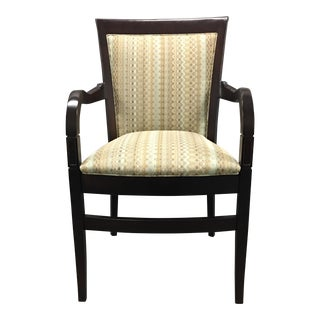 Hickory Geometric Upholstered Sticking Chair