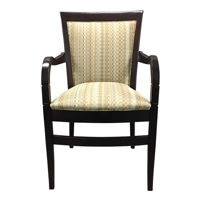 Hickory Geometric Upholstered Sticking Chair - Image 1 of 7