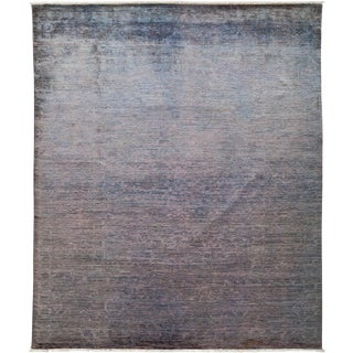 "Vibrance Hand Knotted Area Rug - 8'1"" X 9'9"""