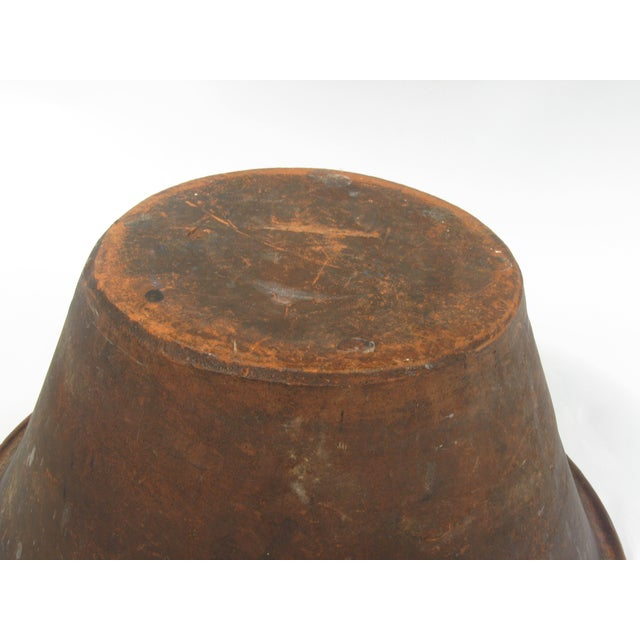 French Earthenware Brown Glazed Bowl - Image 7 of 7