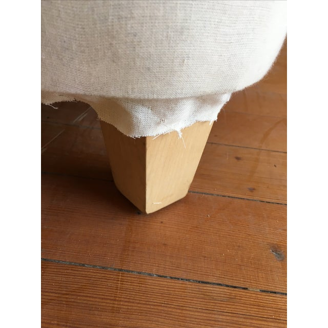 """""""Rounded"""" Chair + Custom Upholstery Service - Image 6 of 6"""