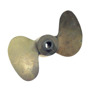 Bronze Two Winged Mini Propeller
