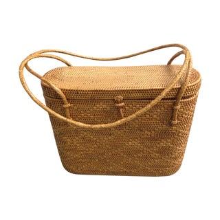 Vintage Woven Basket Purse
