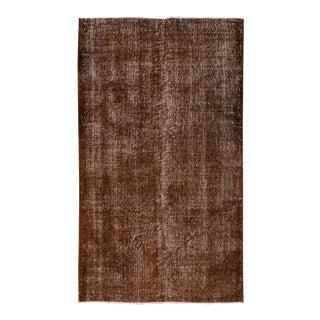 "Apadana - Vintage Overdyed Rug, 3'10"" x 6'8"""