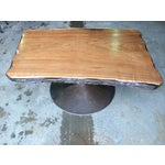 Image of Butternut Wood Coffee Table