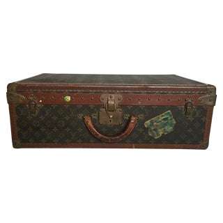 Louis Vuitton Trunk Suitcase Alzer 65 With Tray