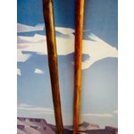 Image of Vintage Wooden Arrows Wall Art Decor