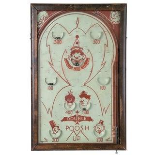 Vintage Poosh-M-Up Bagatelle Game