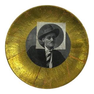 "Carl M. George ""Joyce"" Collage Plate"