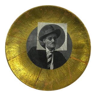 "Carl M. George ""Joyce"" Collage Plate"