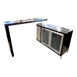 Modern Wood Pivot Swing Bar