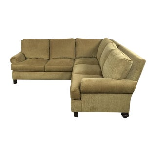 Henredon Two Piece Sectional Sofa