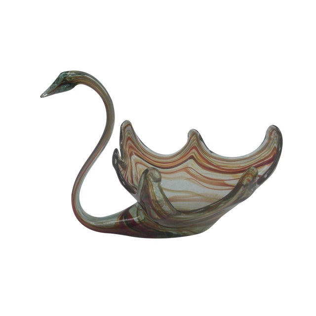 1960's Italian Art Glass Swan - Image 1 of 3