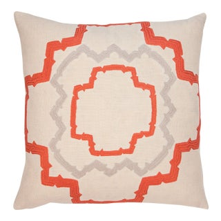 "Piper Collection Pink ""Walker"" Pillow"
