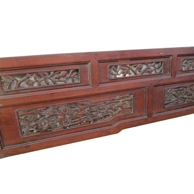 Old Chinese Scenery Carving, Panel Frame - Image 3 of 5