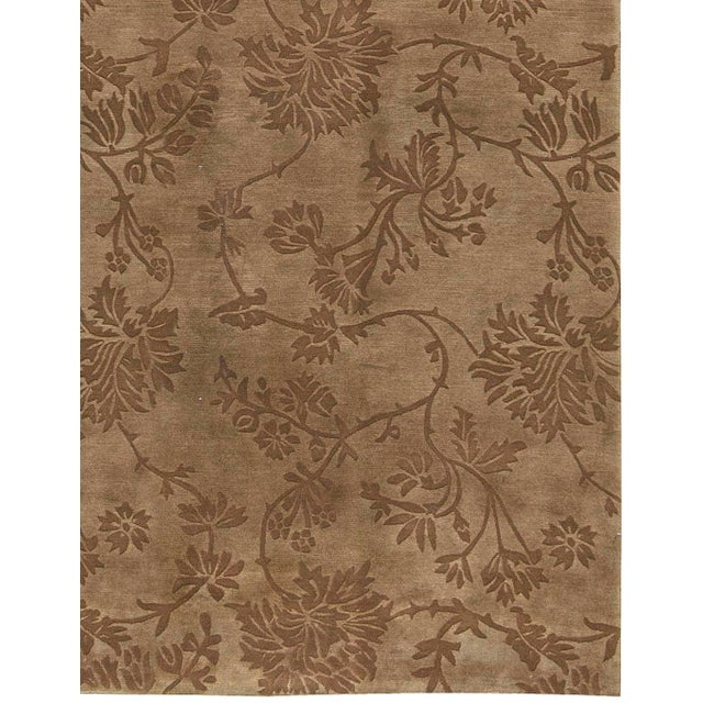 "Contemporary Hand Woven Rug - 6'2"" x 9' - Image 3 of 3"