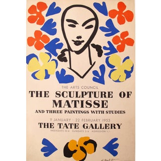 1953 Original Matisse Exhibition Poster