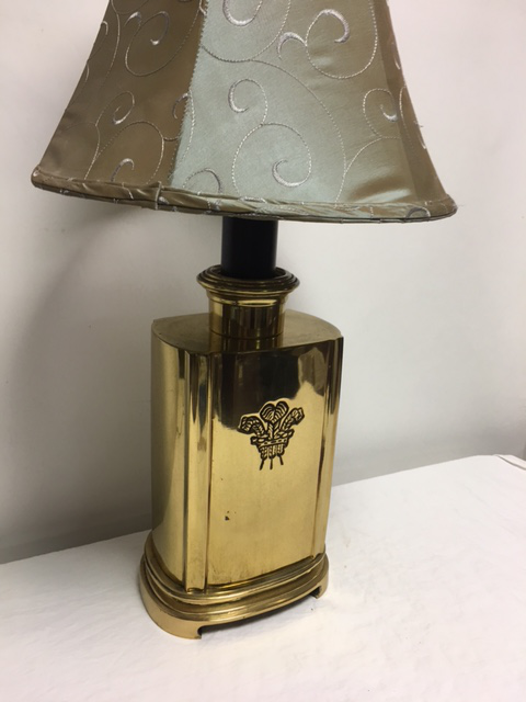 Vintage Ethan Allen Brass Table Lamp   Image 8 Of 10