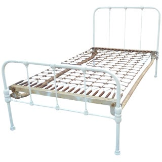Vintage Iron Twin Bed