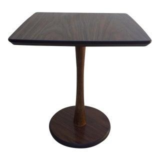 Mid-Century Pedestal Side Table