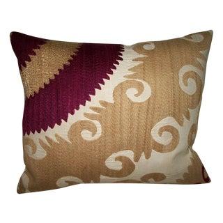 Vintage Gulkurpa Suzani Pillow