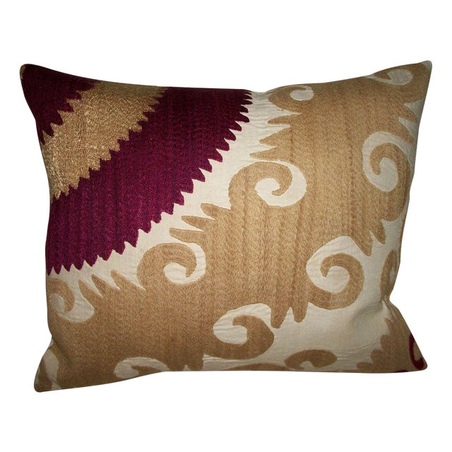 Image of Vintage Gulkurpa Suzani Pillow