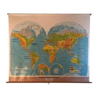 Large School World Map