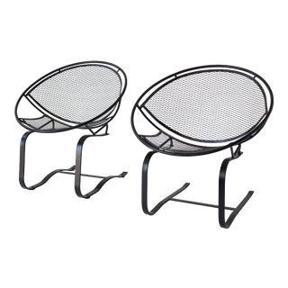 Pair of Salterini Patio Rocking Chairs by Maurizio Tempestini