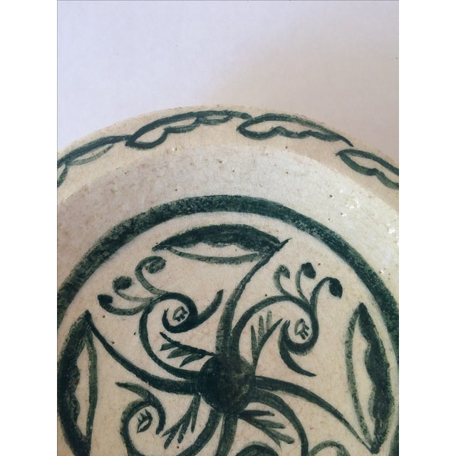 Vintage Footed Ceramic Bowl - Image 7 of 11