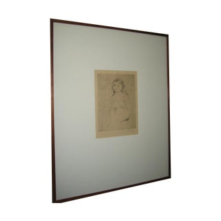 Renoir Original Engraving/Lithograph