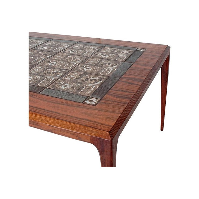 Image of Johannes Andersen Mid-Century Danish Coffee Table