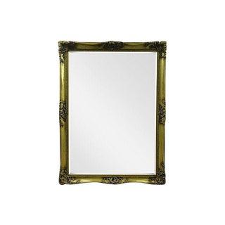 Gilt Solid Oak Mirror