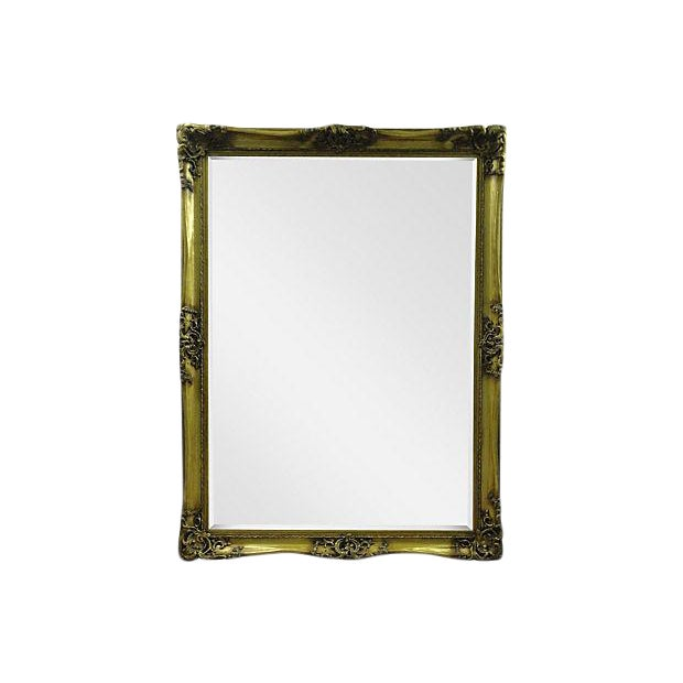 Gilt Solid Oak Mirror - Image 1 of 7