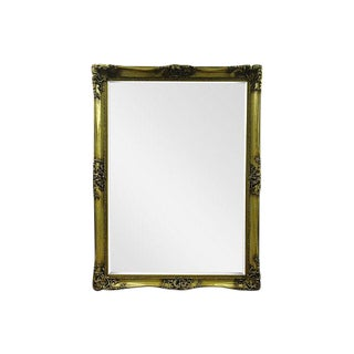 Gilt Solid Oak Mirror