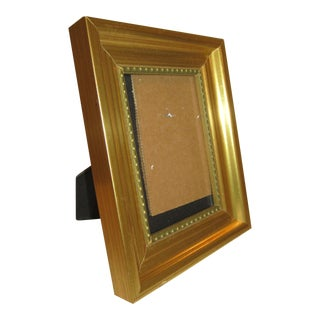 Gold Button Accent Frame