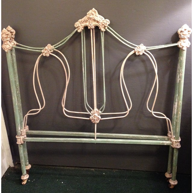 Image of 19th Century Antique Iron French Day Bed