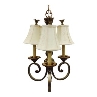 Traditional Style Gold Chandelier