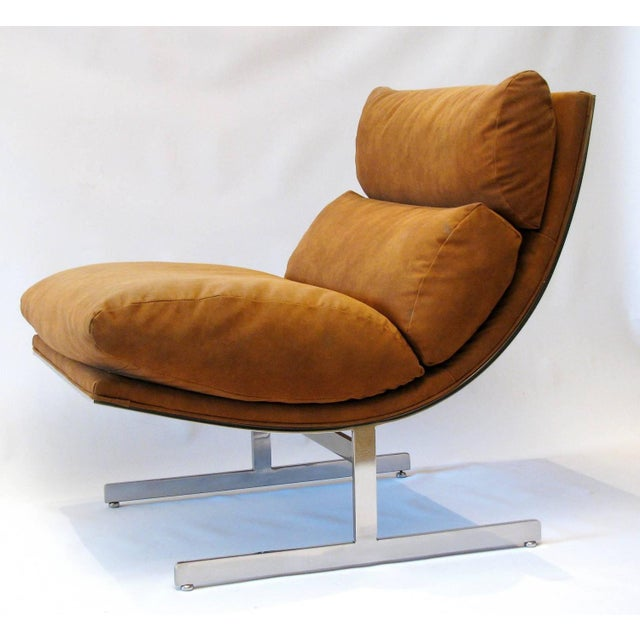 Kipp Stewart for Directional Lounge Chairs - Pair - Image 5 of 7