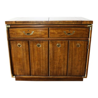 Drexel Heritage Bar Cabinet or Buffet Server on Rollers