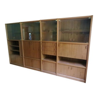 Beautiful Teak Wall Unit